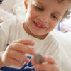 おこづかい、お手伝いのお駄賃、お年玉など子供の金銭感覚を育てるチャレンジをしています。