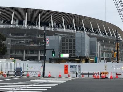 東京オリンピックのマラソンコースを走ろう⑧~34.5km地点の気象庁前からスタートして、ゴール地点のオリンピックスタジアムまで~
