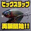 【メガバス】マグナムサイズシャッドプラグ「ビッグスラップ」オンラインショップにて再販開始!