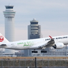 JALの新型機 エアバスA350を撮る②