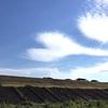 ハートの雲と五宝滝