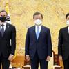 (海外の反応) 文大統領は韓半島·北朝鮮とも…「非核化表現法」