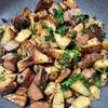 筍と低温調理豚のソテー