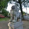 沼山津神社の狛犬