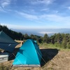陣馬形山で梅雨の晴れ間のソロキャンプ⁈