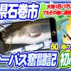 【宮城県の釣り46】 初心者・シーバス奮闘記→1匹大物バラすも連続ヒットでウグイ釣れた! 【石巻和渕】