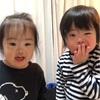 Rioとコッちゃん(3歳4ヶ月)