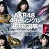 AKB48 49thシングル選抜総選挙 速報 指原3連覇達成 荻野由佳は5位まで!?