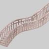 【Blender #33】カーブと配列を組み合わせるとパイプや鎖など繰り返しモデルの作成が楽になる
