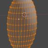 Blender操作メモ6(つるつるの縦長球を作るために)_φ(・_・【1063日目】