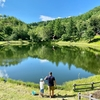 高ソメ キャンプ場の釣り池(長野県松本)