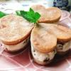 ほうじ茶風味!プルーンを挟んだ高野豆腐のクッキーウィッチ