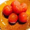 プチトマトのマリネ作ってみた、炭水化物弁当