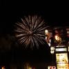 七尾祇園祭でキリコと花火を1枚の写真におさめたい