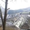 大内宿の茅葺屋根民家群とねぎ蕎麦を堪能してきました。