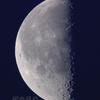下弦の月(月齢21.751)