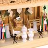 箱宮神殿はひとつの空間を創りやすい 箱型神棚の祭り方の参考例