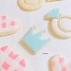 【アイシングクッキー】意外と簡単!ギンガムチェック柄の作り方