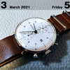 友だちよ。これが私の一週間の時計です♬