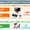 Raspberry Pi OSの3つのエディションの違いを知ろう