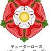 イギリスUnited Kingdomでは,イングランド,スコットランド,ウェールズ,北アイルランドそれぞれに国花があり,バラを国花とするのがイングランド.しかし,イングランド国花のバラは,特別なバラで,チューダーローズ(テューダーローズ)と呼ばれる紋章.チューダーローズが生まれた背景には,30年間に及ぶイギリスの内戦・薔薇戦争が関わっており,和解の印として生まれたのがチューダーローズ.
