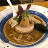 637. 豚骨魚介らーめん~春のはじまり@海老丸(水道橋):海老丸さんにしては珍しいニボニボ系の一杯!〆のクリームリゾットに癒される!
