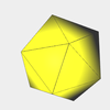 Three.js  IcosahedronGeometry(正20面体)