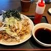 🚩外食日記(382)    宮崎ランチ   「武蔵野天ぷら道場」⑧より、【ピリ辛豚つけそば】‼️