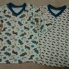 マホエさん定番VネックTシャツ。