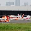 2018年5月19日(土)① 初めての東京ヘリポート JA83KT他