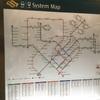 シンガポールの移動は地下鉄が便利