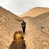 新疆一人旅(6) ベゼクリク千仏洞~ラクダで火焔山を登る