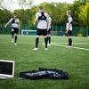 高強度ランニングおよびスプリントの分析(高強度ランニングは、試合結果に決定的な影響を及ぼし、実行量、繰り返す能力は、エリート選手と下位レベルとを分けるパフォーマンス特性であるとされている)