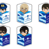 【グッズ】「名探偵コナン」 キャラ箱クッションVol.4 警察コレクションver 2018年2月発売予定