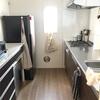 【キッチン】すっきり収まるシンプルなキッチン。