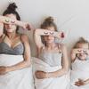 母親と2人の娘を並べて撮ったInstagramがすごくかわいい
