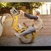 自転車ウィリー、原付滑り込み…… ヤバすぎる自撮りで話題のおばあちゃんの写真展に行ってきた