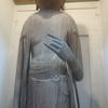 【信濃仏】智識寺(千曲市)~3メートルの立木仏 十一面観音立像~