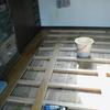 床張り1−1(フローリング無垢材と掘りコタツ例)