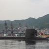 アレイからすこじま 自衛艦艇停泊地と旧海軍の遺産