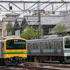 (中央東線撮影記#189)5/18 E493系+EF64 37 中央線試運転(返却回送?)