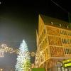 ドイツ・フランクフルト:商業・金融の中心地であるフランクフルトのクリスマスマーケット