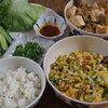 マンガご飯*豆腐とひき肉の甘辛味噌そぼろ・納豆と玉子の塩ネギそぼろのレタス包み【3月のライオン】10巻参考