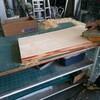 木彫り看板 下処理