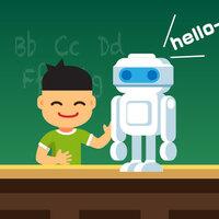 ロボットと英語を勉強するのが流行っている!?
