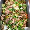 豚肉と白菜のオイスターソース