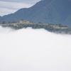 立雲峡から眺める天空の城「竹田城跡」は本当に絶景でした。吉方位旅行記①