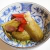 余った麺つゆで夏野菜の煮浸し
