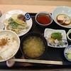 石川県野々市市にある旬彩もみじ屋で、天ぷら、お造り等ひとつひとつ丁寧に作られたもみじ定食。