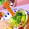 青梗菜とパンチェッタのレモンマリネ